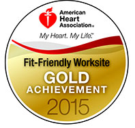 Fit-Friendly Worksite – Gold Level Recipient