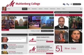 The Muhlenberg Network - welcome graphic