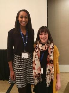 "Taylor Johns and Tara Werner presented the results of their research in a talk entitled ""Ending Tutorial Sessions: How and Why Tutors and Tutees Perceive that It's Time"" at the International Writing Centers Association 2016 meeting in Denver, CO from October 13-16, 2016"