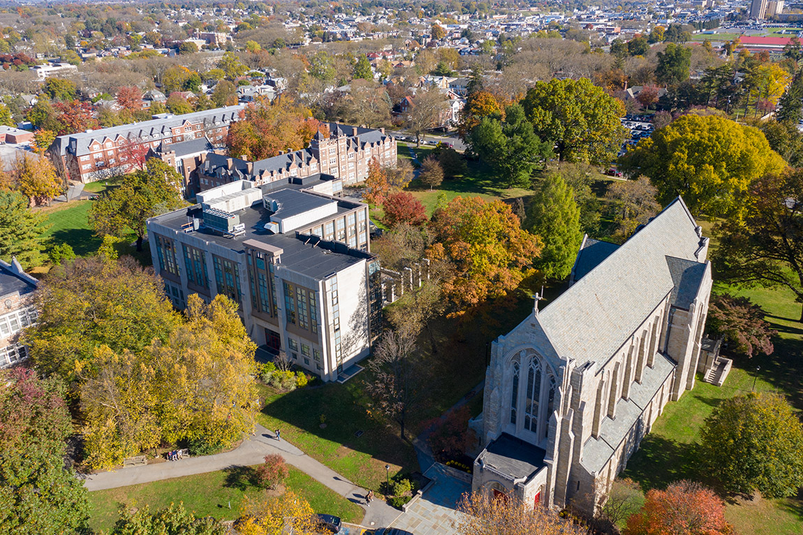 Egner Chapel - Drone October 2019